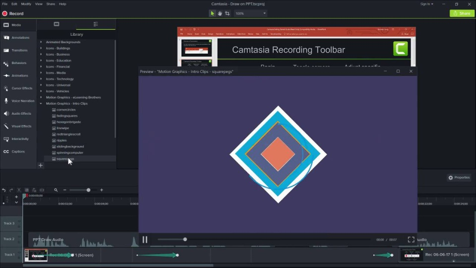 how to download camtasia videos