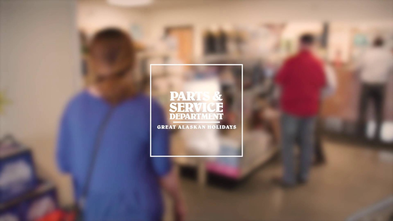 Come Visit Our Parts and Service Department!