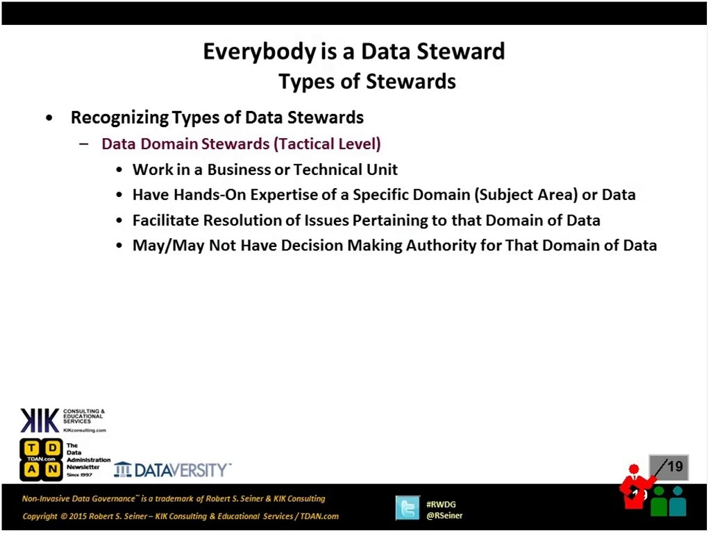 RWDG Webinar: Everybody is a Data Steward