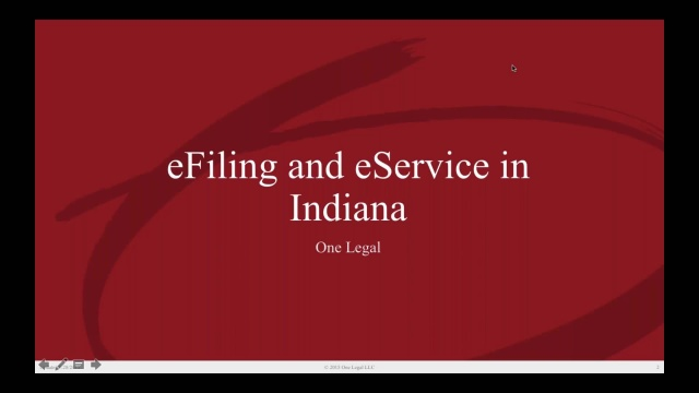 Wistia video thumbnail - Indiana eFiling Training