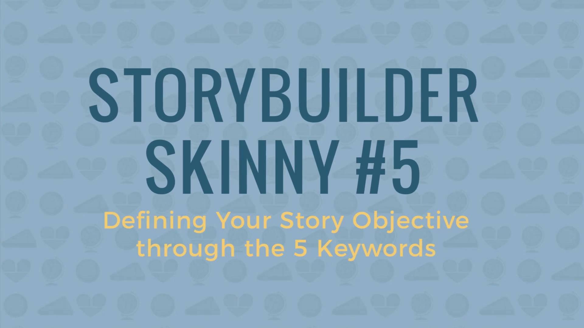 Wistia video thumbnail - Skinny #5 (Using Keywords)