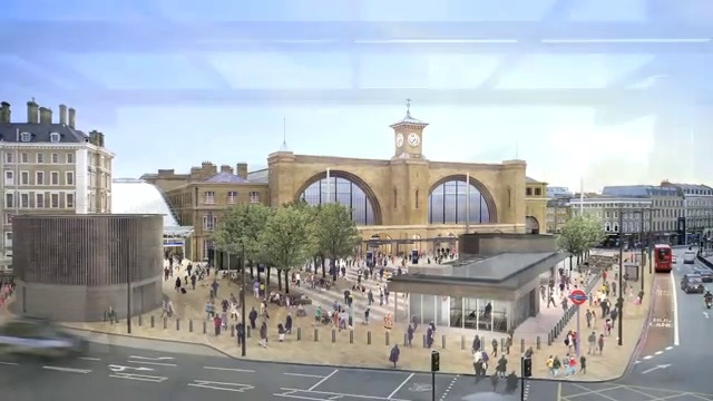 Improving Kings Cross station - Network Rail