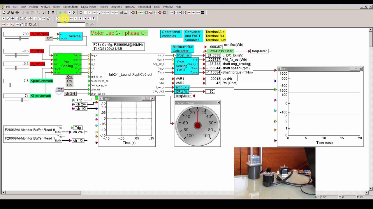 Altair Embed Visual Environment Software For Embedded Systems 83 Pace Arrow Wiring Diagram Pmsm Sensorless Field Oriented Control Hil