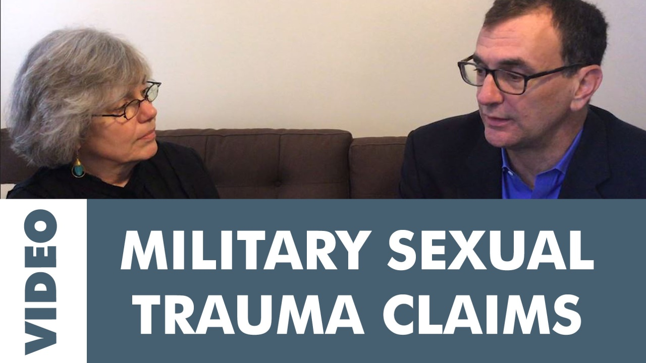 Military Sexual Trauma (MST): How to Get Service Connection