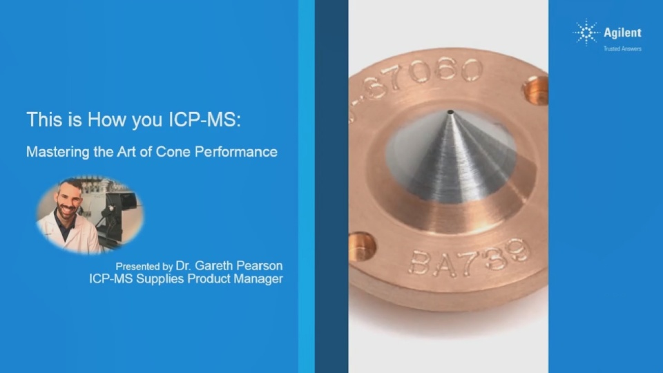 This is How you ICP-MS: Mastering the Art of Cone Performance