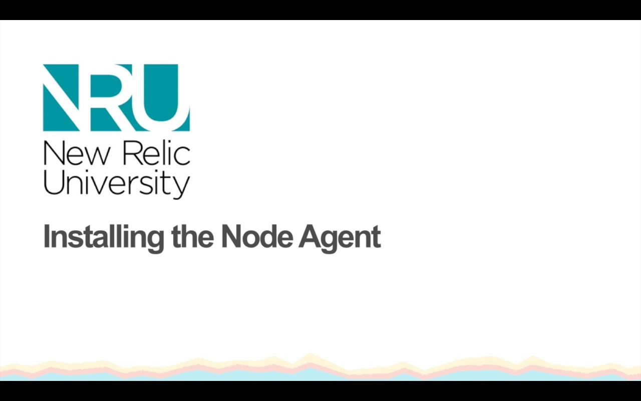 Installing the Node Agent