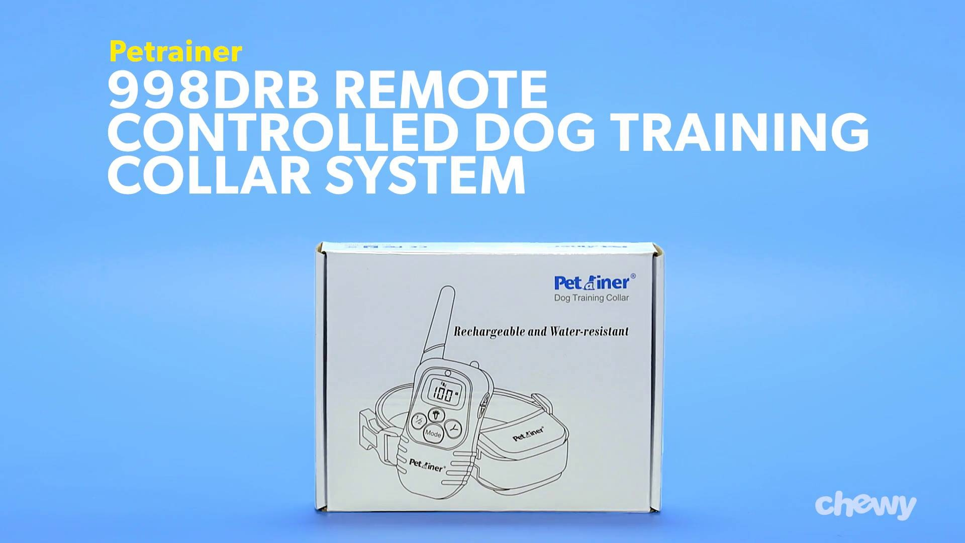 Petrainer 998DRB Remote Controlled Dog Training Collar System, 1 ...