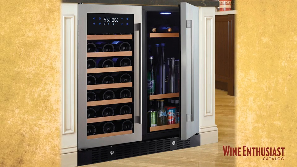Wine Enthusiast N Finity Pro Wine Beverage Cooler Quench Essentials