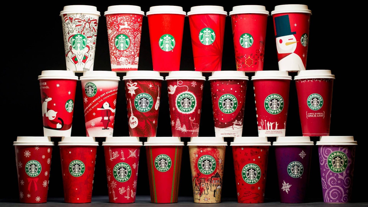20 years of Starbucks holiday cups | Starbucks Newsroom
