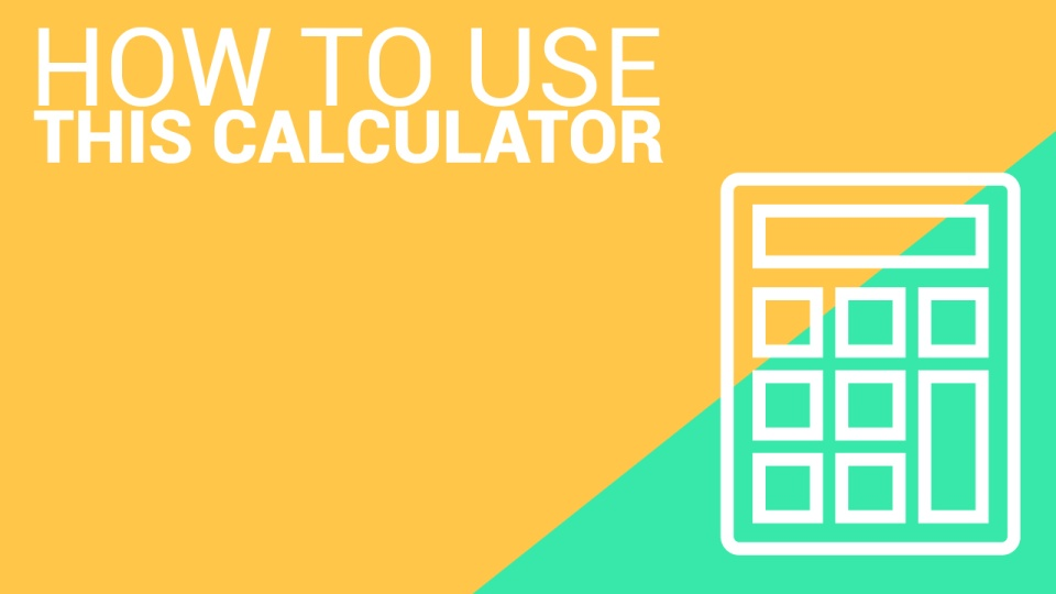 Financial Aid Calculator - How To Use