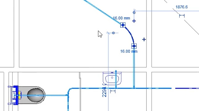 Product Line Placer for Piping - Draw flexible pipes at ease