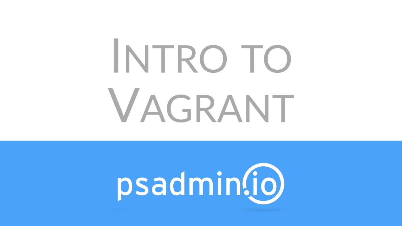 Vagrant Overview
