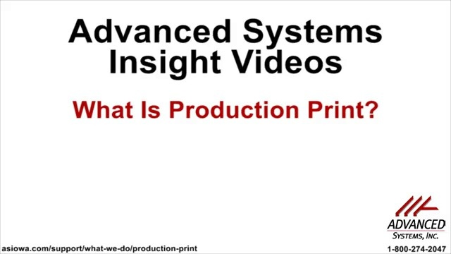 Wistia video thumbnail - What Is Print Production?