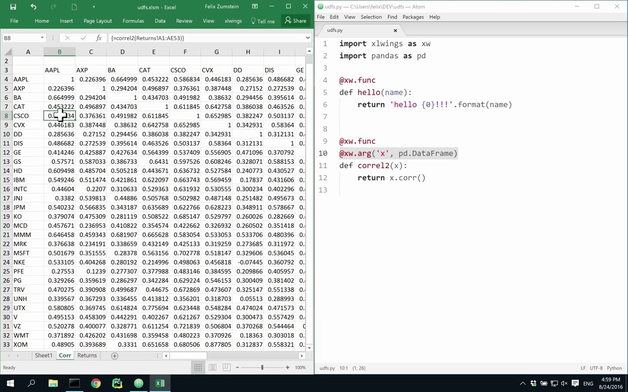 xlwings - Python For Excel  Free & Open Source