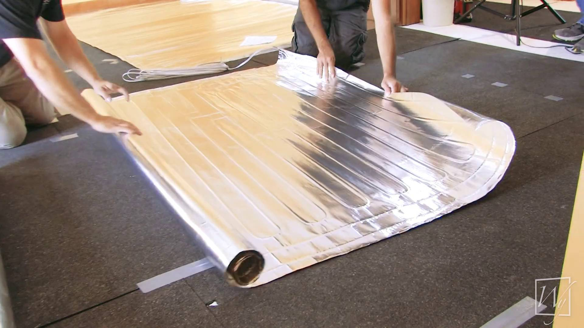 Floor Heating Installation Under Laminate Flooring