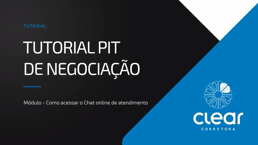 c06f50814 Como acessar o chat online Tutorial Clear