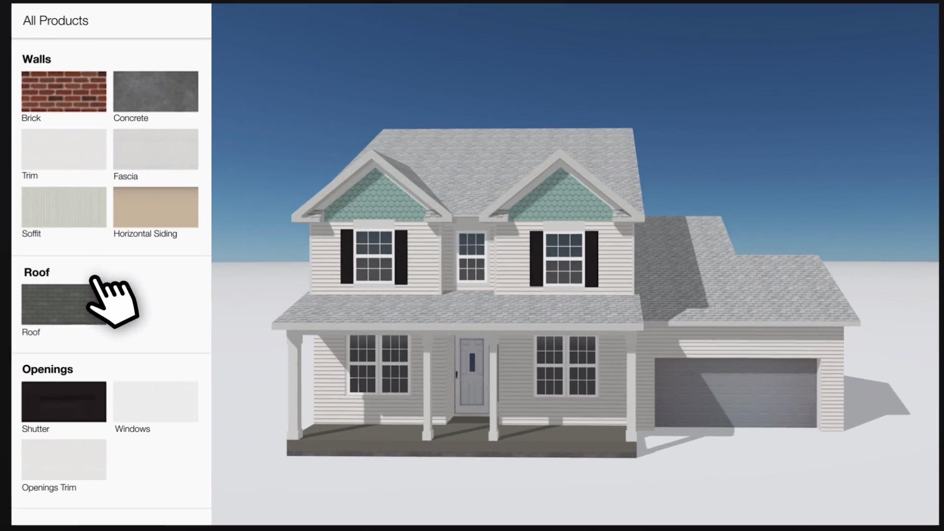 Exterior Design Example. Video Thumbnail
