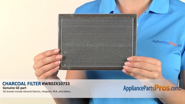 GE WB02X10733 Charcoal Filter - AppliancePartsPros.com on