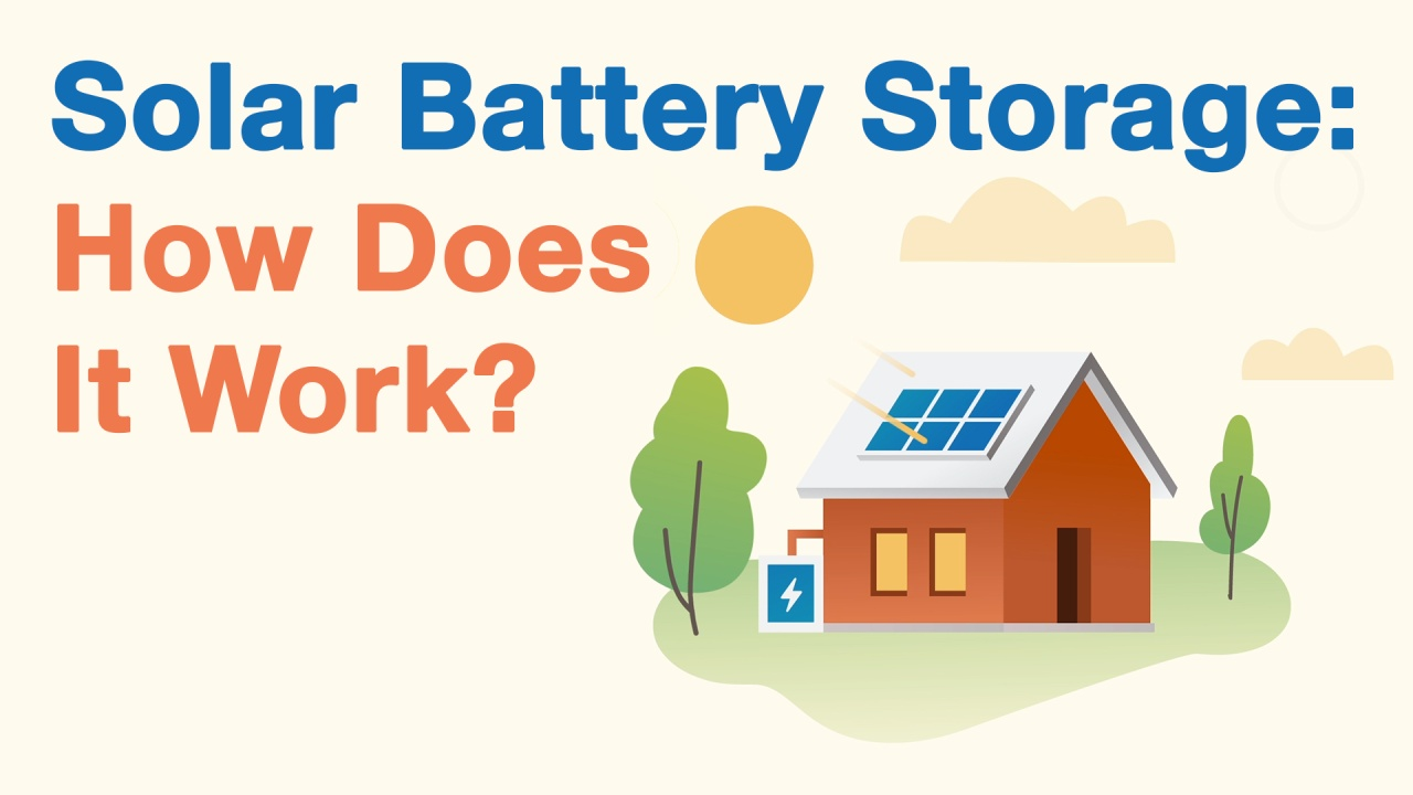Batteries For Solar Panels Compare Battery Storage Do Work How Diagram Kids Does