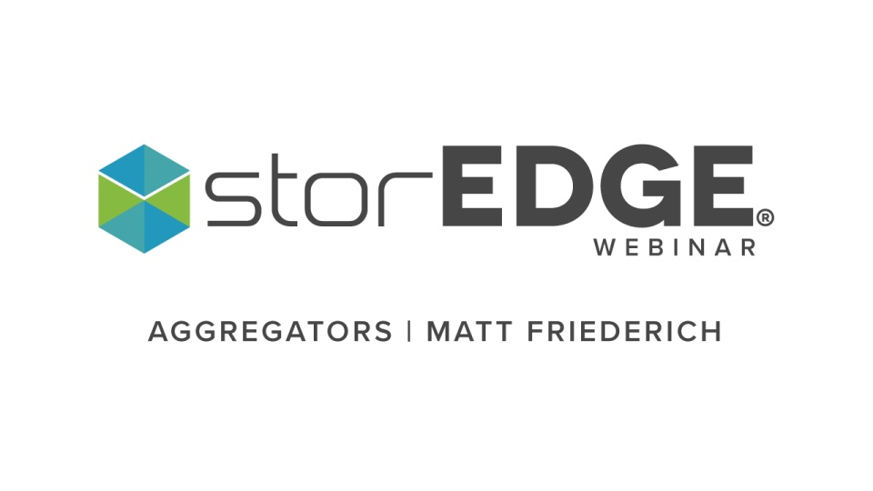 Aggregators Webinar Not Necessarily A Four Letter Word Storedge