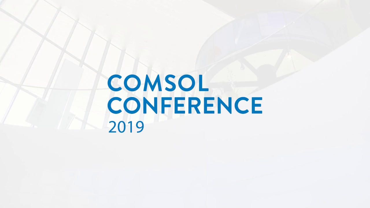 Save the Date for the COMSOL Conference 2019