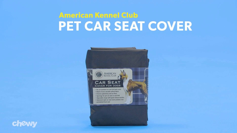 Superb American Kennel Club Pet Car Seat Cover Tan Chewy Com Alphanode Cool Chair Designs And Ideas Alphanodeonline