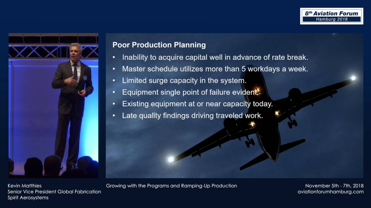 Kevin Matthies - Growing with the Programs and Ramping-Up Production