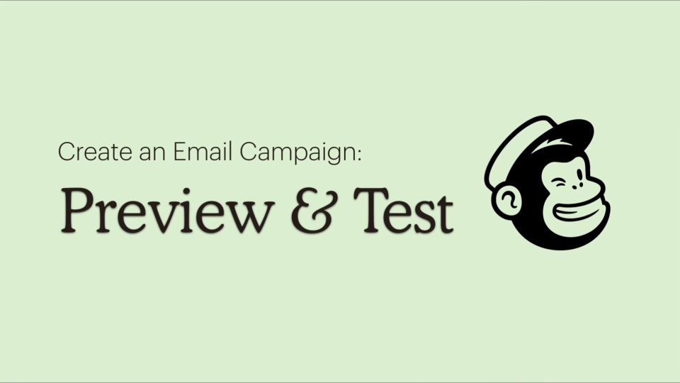 4 - Create a Campaign - Preview and Test (MVP)
