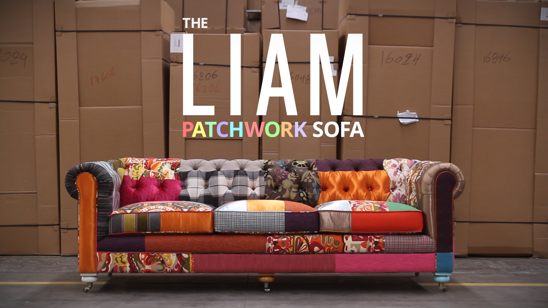 Patchwork Liam Sofa