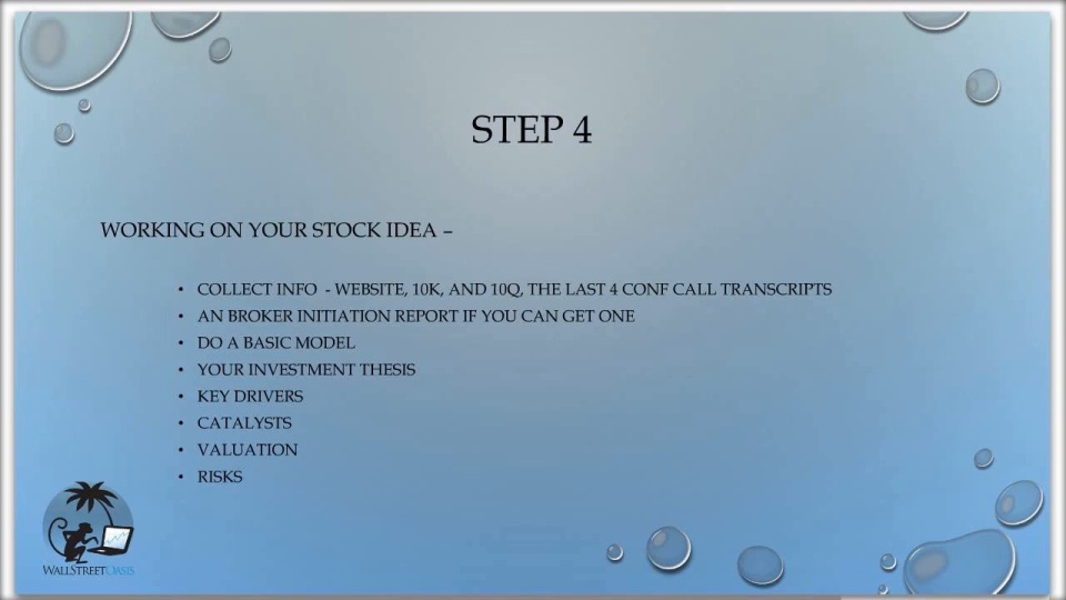 Stock Pitch Sample Template - Proven Examples to Help Ace Y...