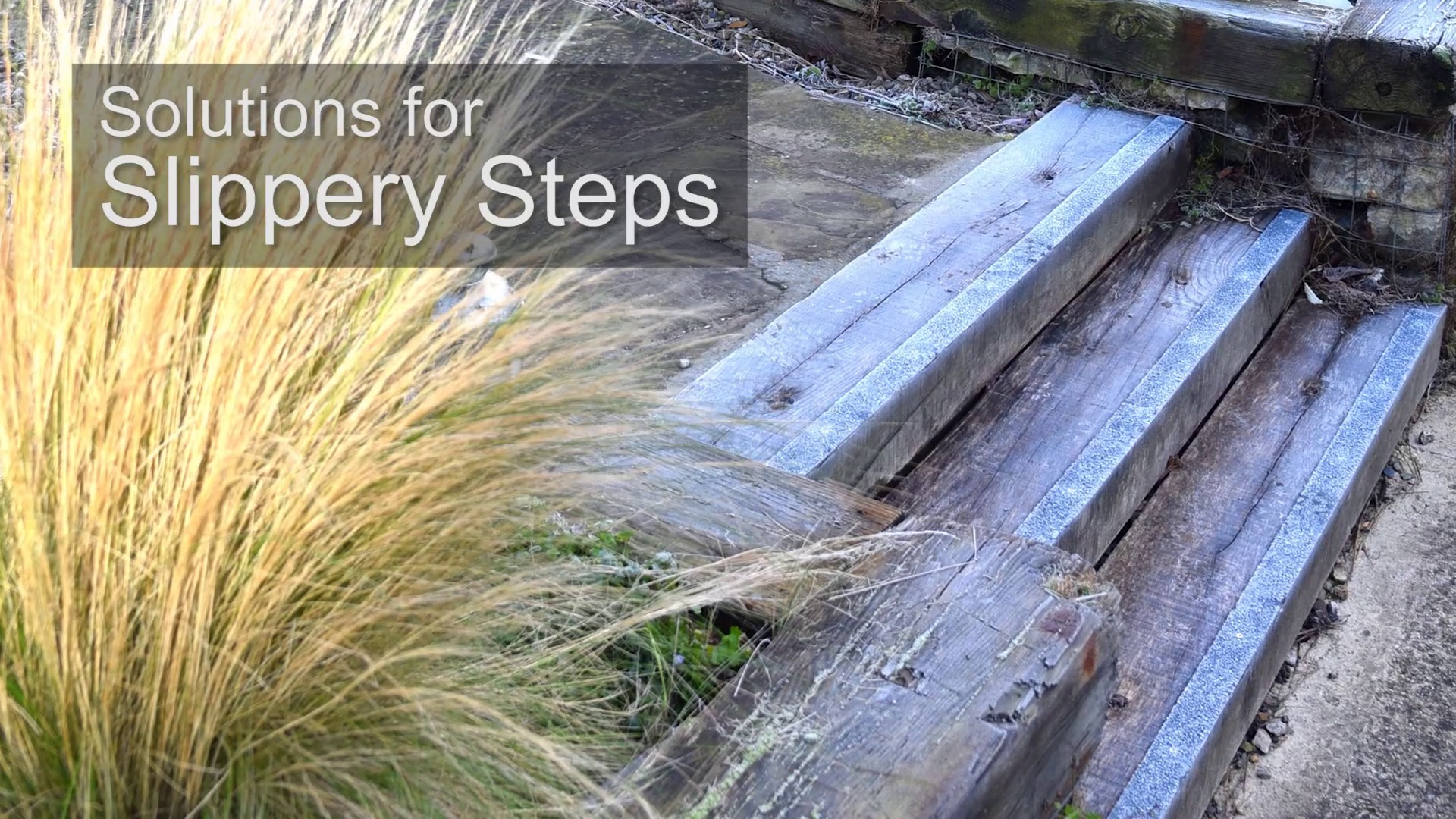 Solutions For Slippery Steps. Video Thumbnail