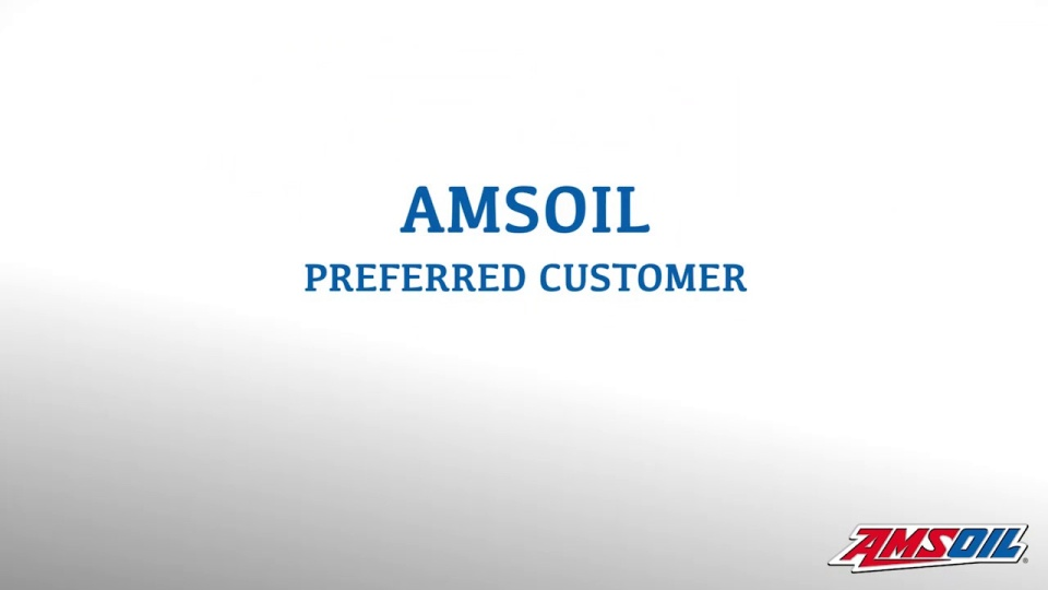 become an amsoil preferred customer and save