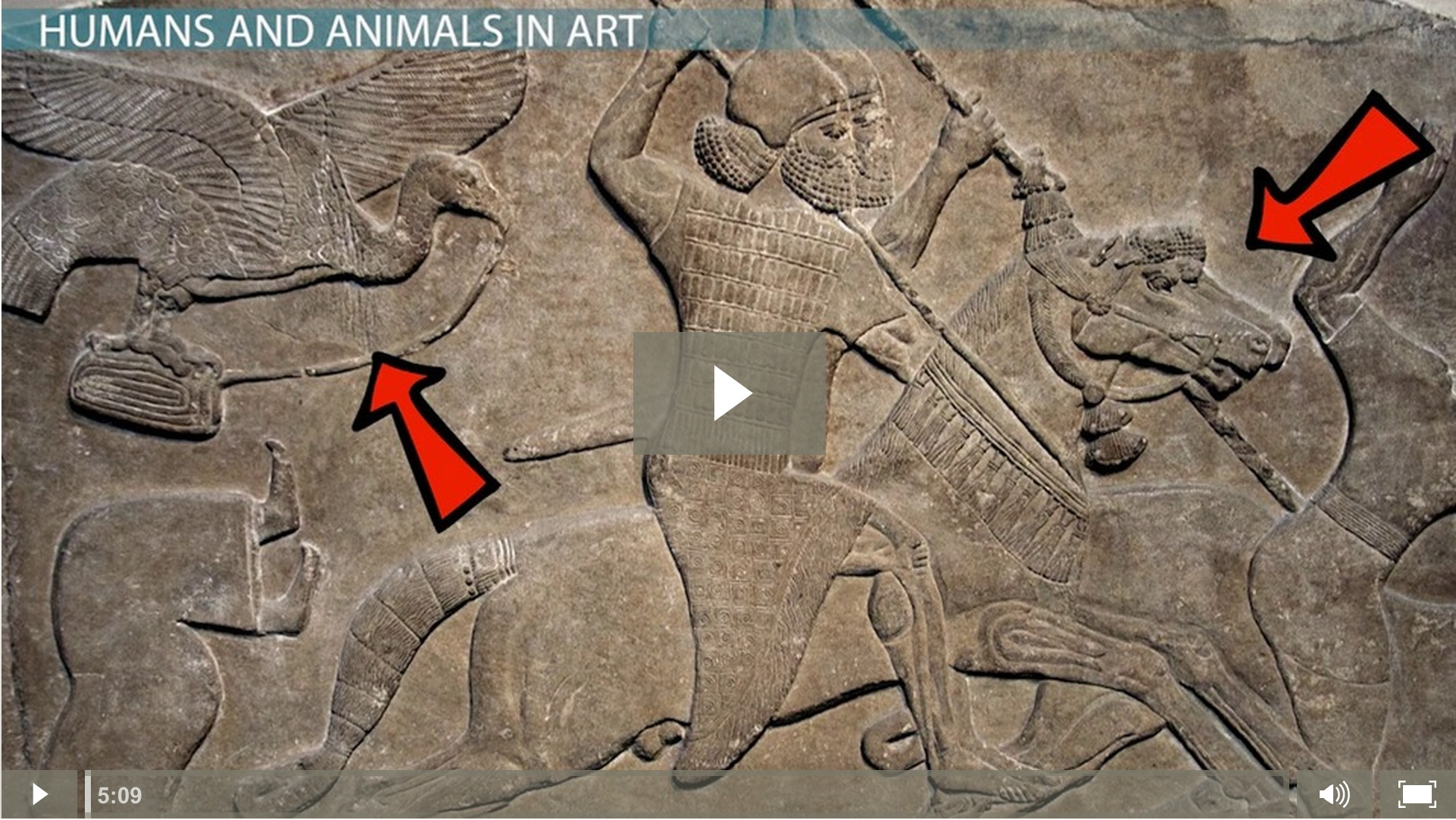 Human Animal Forms In The Art Of Ancient Near East