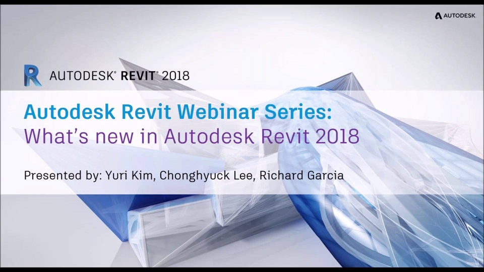 What's New in Revit 2018 Part 1