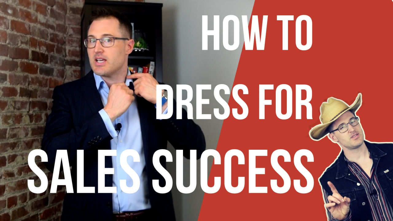 How To Dress For Sales Success Badger Maps