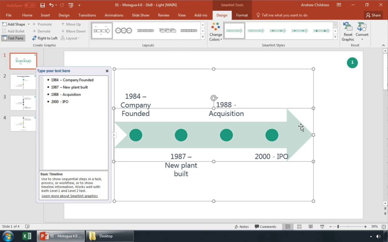 How To Make A Timeline In Powerpoint With Templates Power Plant Layout Ppt Video Thumbnail