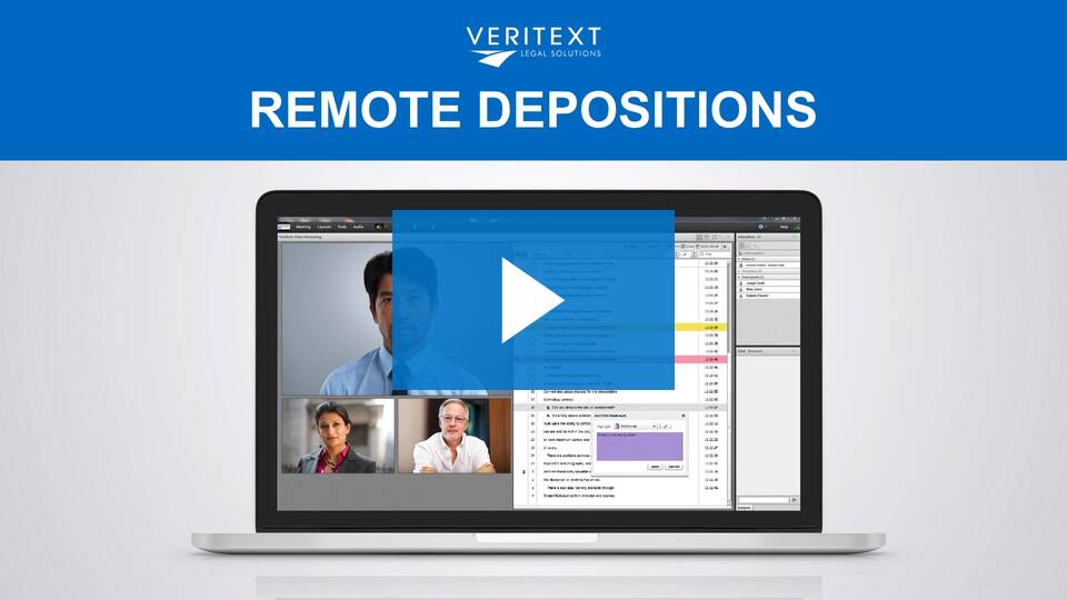 remote depositions