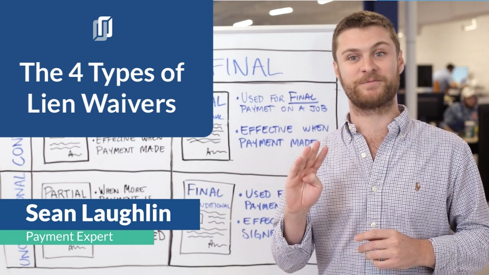 The 4 Different Types of Lien Waivers in Construction