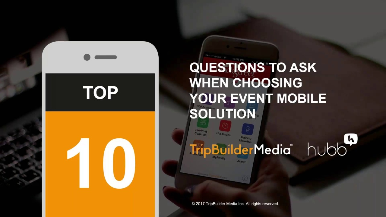 Wistia video thumbnail - 10 Questions to Ask When Choosing Your Event Mobile Solution
