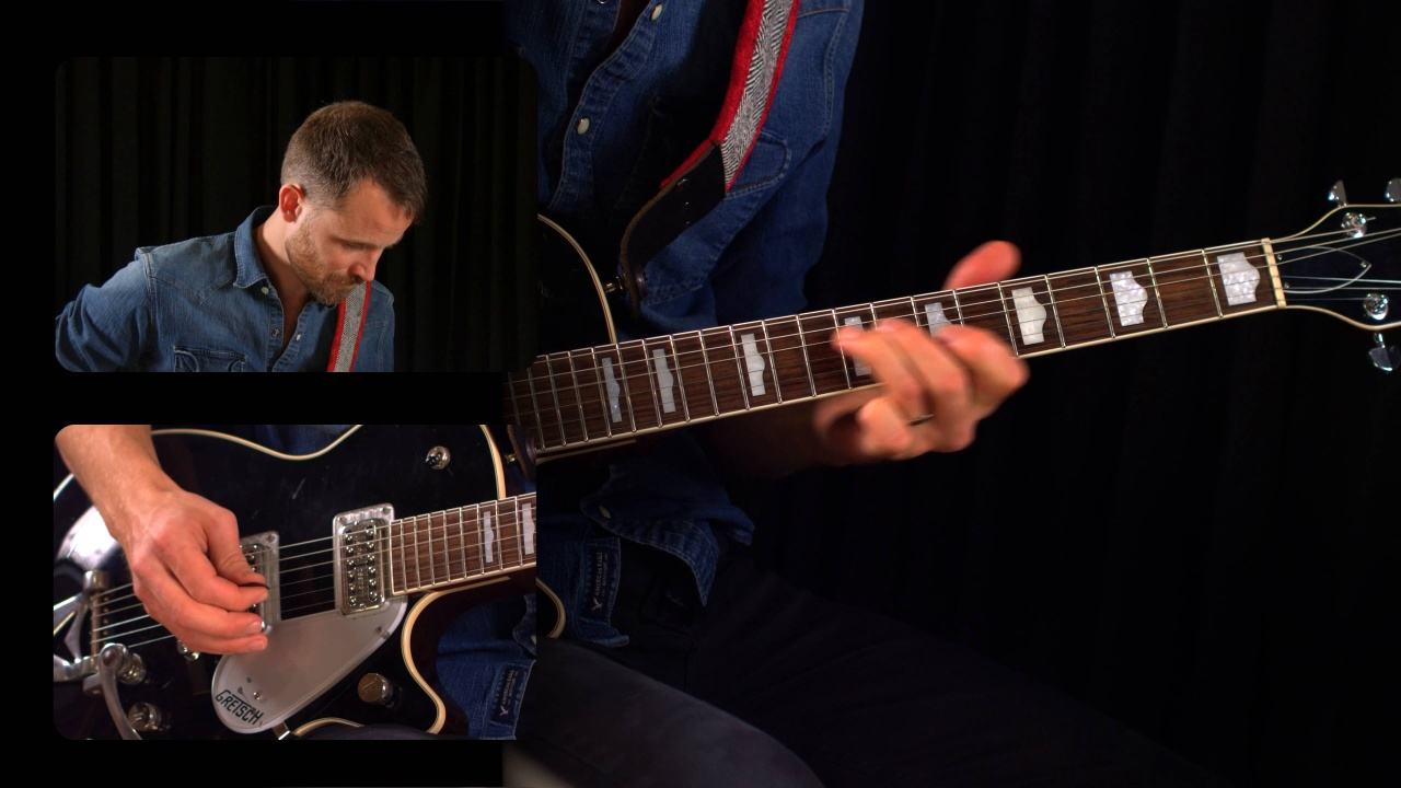 Guitar Lessons: Simple Piano Style Blues Lick