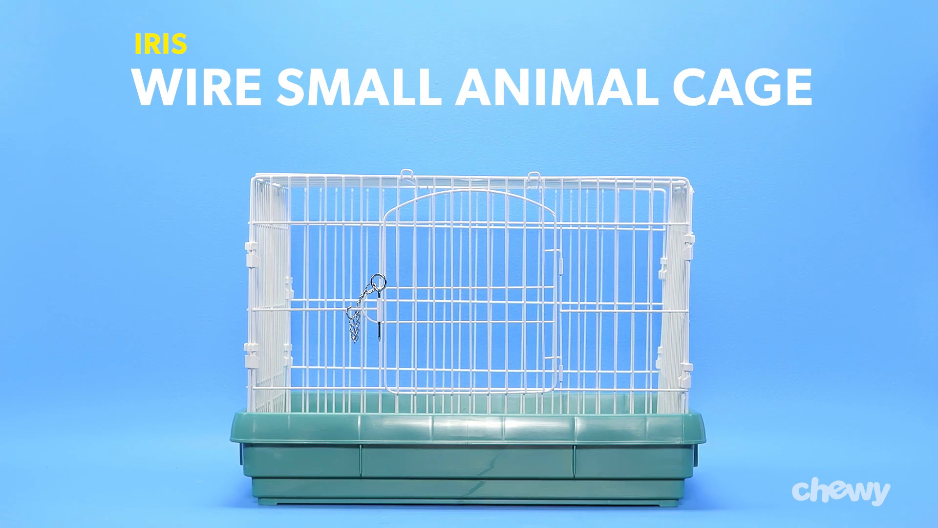 IRIS Wire Small Animal Cage, Green - Chewy.com