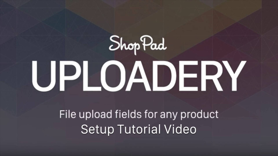 Wistia video thumbnail - Uploadery Setup Tutorial