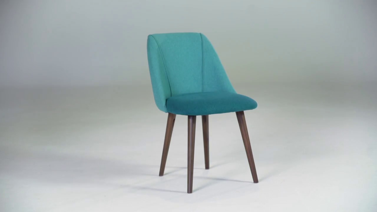 Set of 2 Dining Chairs Blue and Emerald Green, Lule | MADE.com
