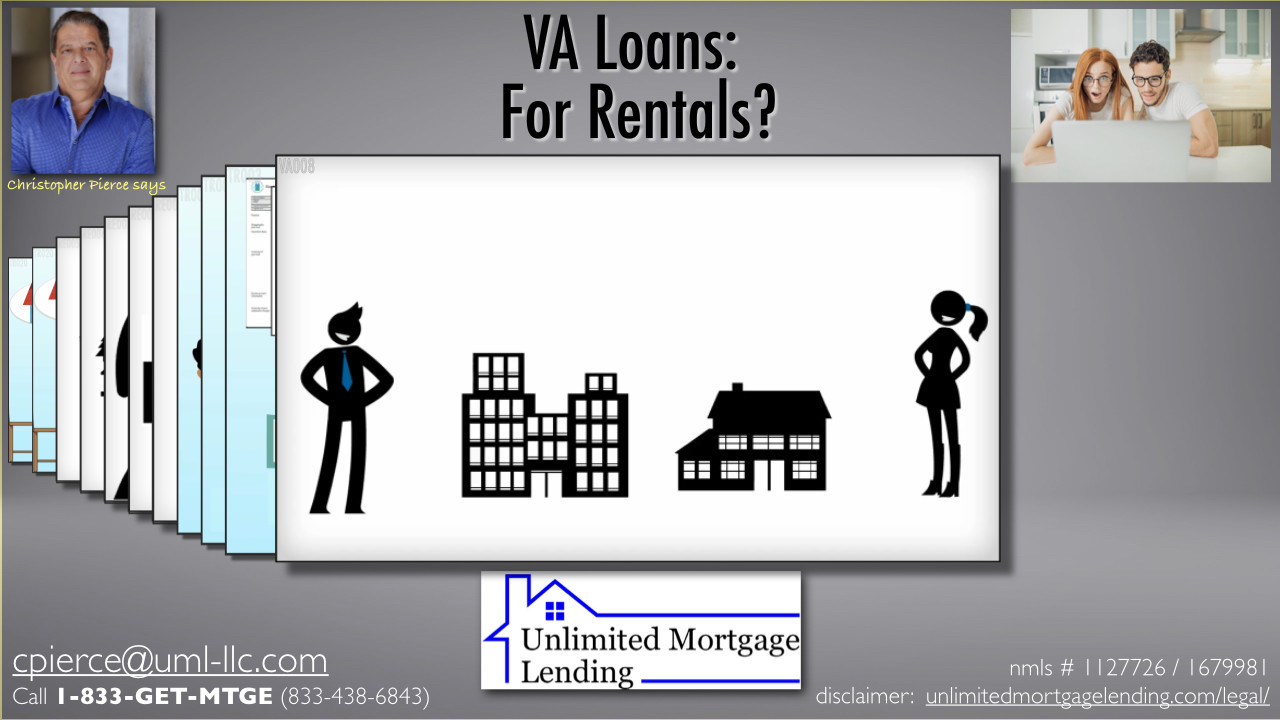 Can I Buy A Rental Property With A VA Loan? Unlimited Mortgage Lending