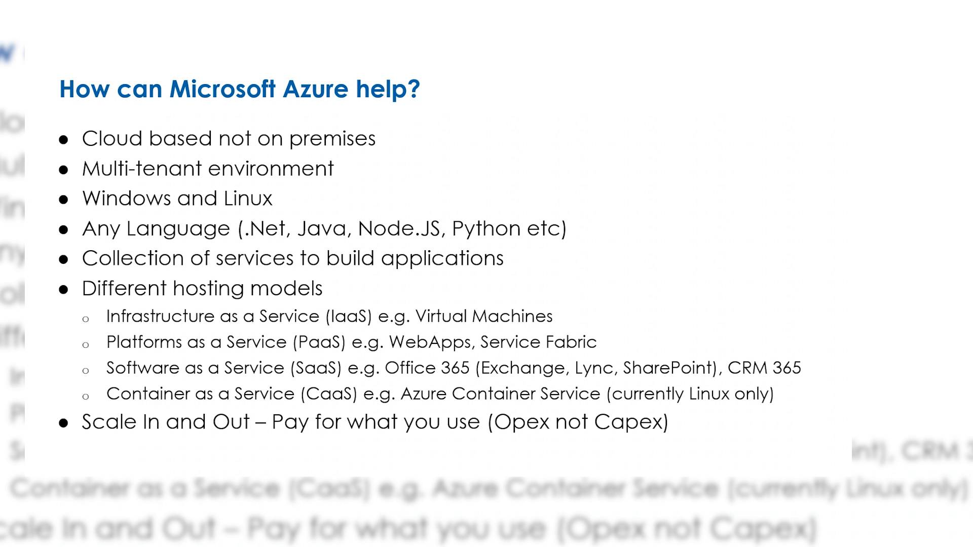 Hybrid infrastructure you did it you switched over now lock it down - Building Scalable And Resilient Web Apps With Microsoft Azure Sessions By Pusher