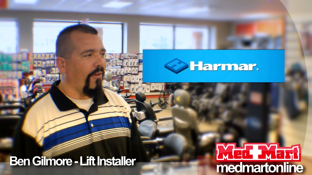 Harmar Certfied Vehicle Lift Installation by Med Mart Experts on