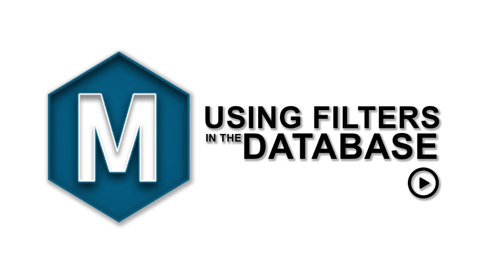 Using Filters Database