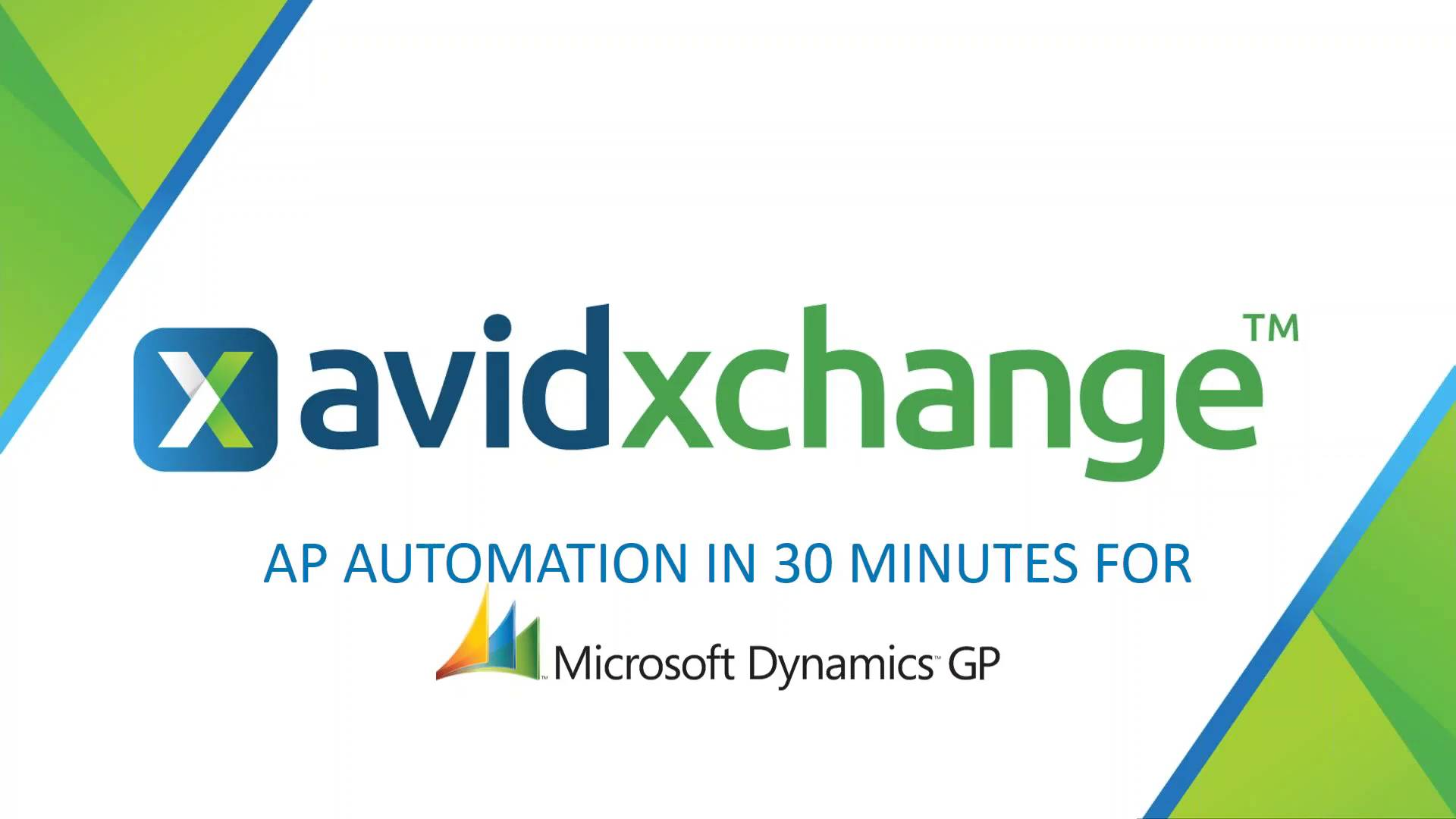 Live demo ap automation for microsoft dynamics gp avidxchange baditri Gallery