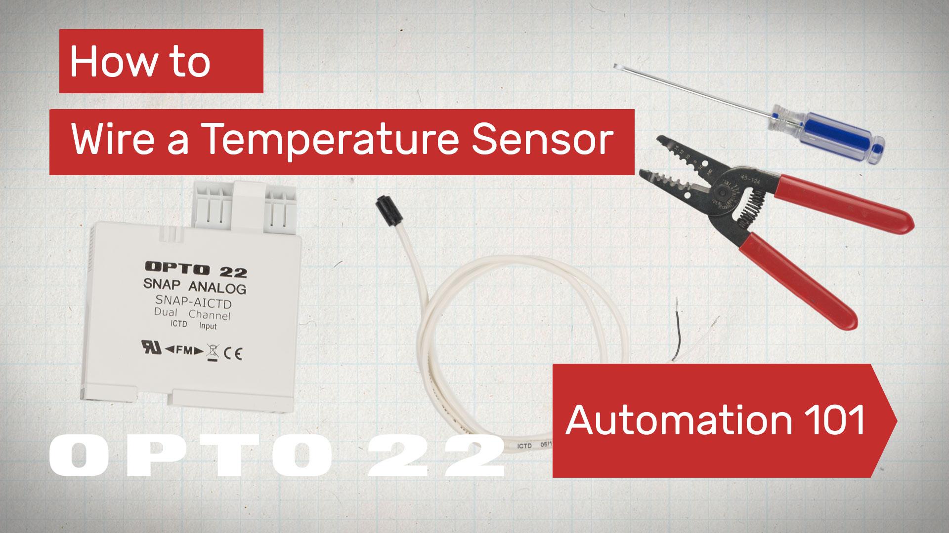 Wire A Temperature Sensor Automation 101 Video G4oac5 Opto 22 Wiring Diagram