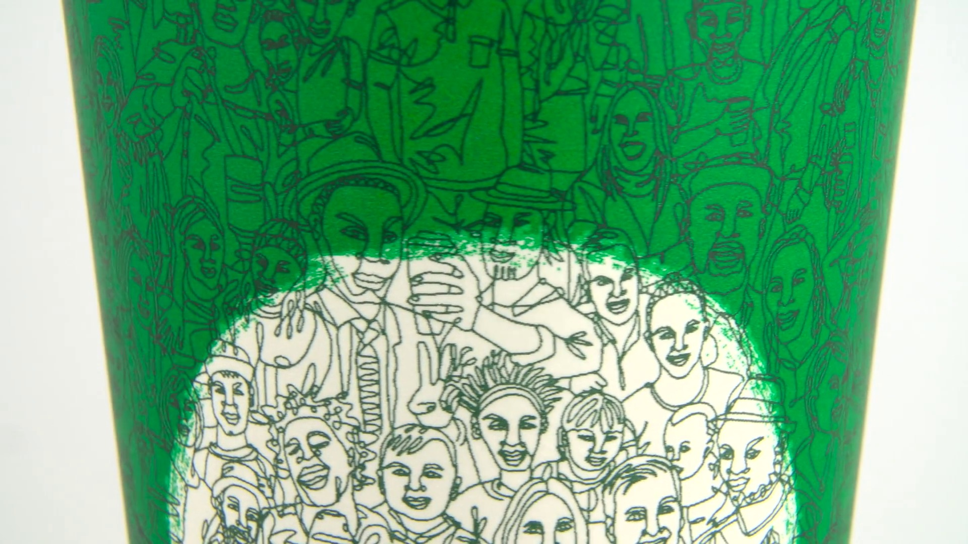 Line Drawing Unity : Starbucks green cup celebrates community newsroom